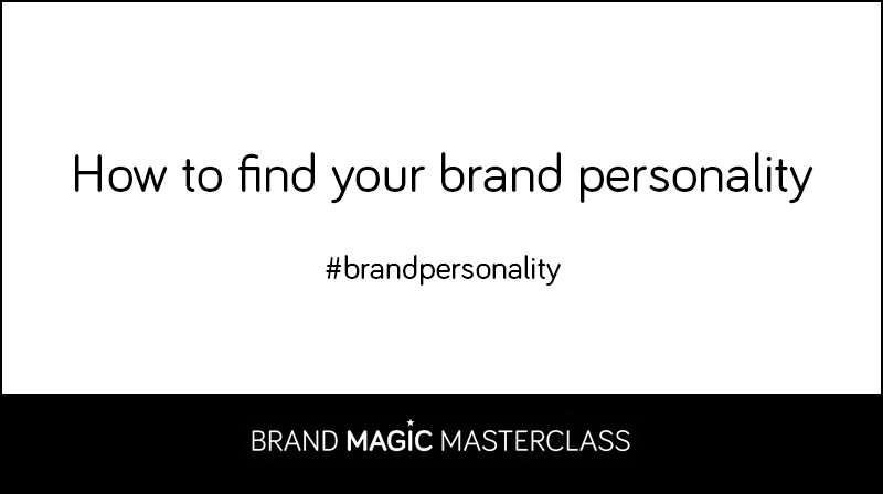 Find out your brand personality or brand archetype
